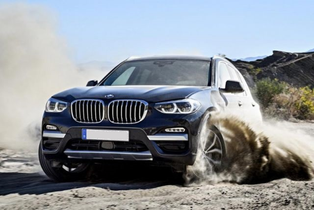 2019 BMW X3 front