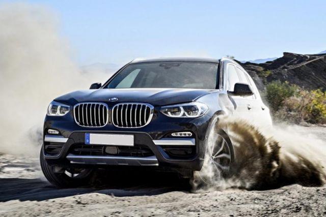 2019 BMW X3 front