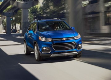 2019 Chevy Trax front