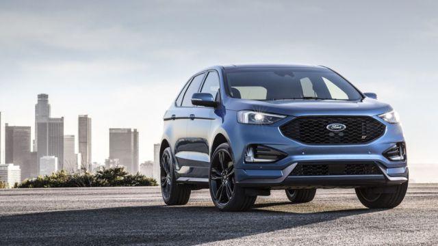 2019 Ford Edge font