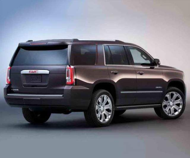 2019 GMC Yukon rear