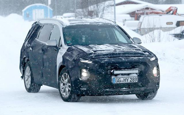 2019 Hyundai Santa Fe Spy Photo 1