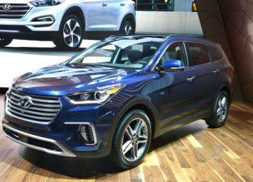 2019 Hyundai Santa Fe front