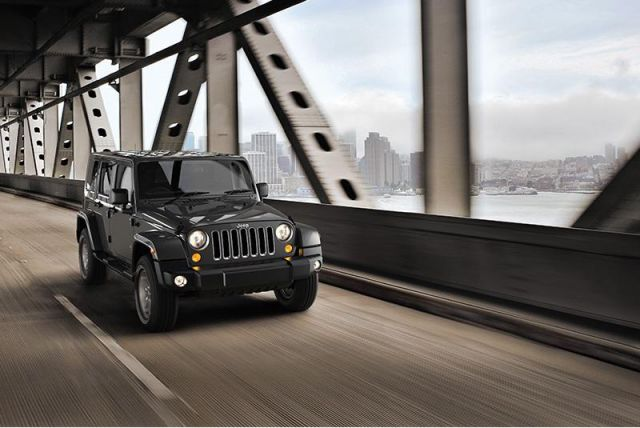 2019 Jeep Wrangler Unlimited front