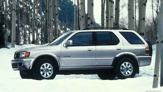 Honda Passport Crossover SUV 1998
