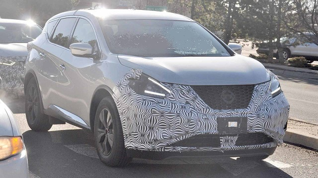 2020 Nissan Murano spy photos