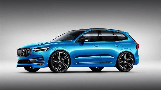 2019 Volvo XC60 side