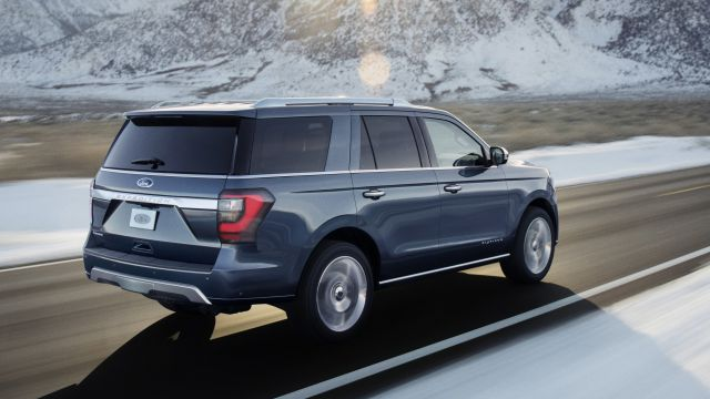 2019 Ford Expedition rear view