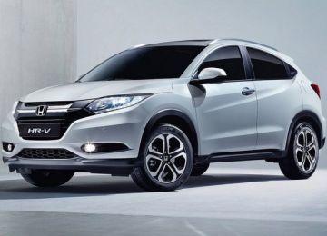 2019 Honda HR-V front