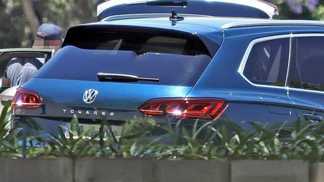 2019 VW Touareg rear