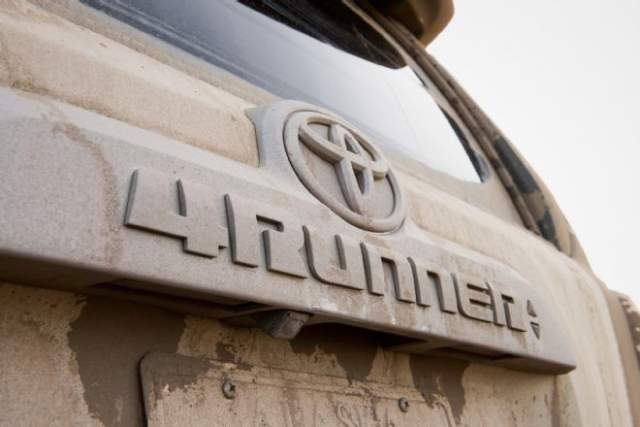 Toyota 4Runner rear
