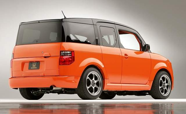2019 Honda Element rear