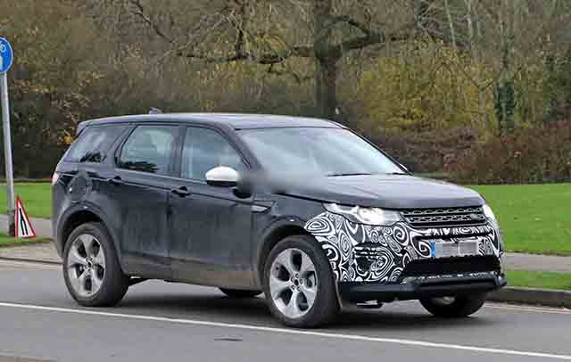 2019 Land Rover Discovery Sport spied