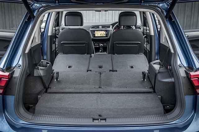 2019 VW Tiguan Allspace storage