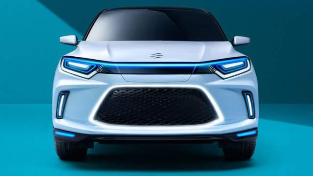 Honda Everus EV front
