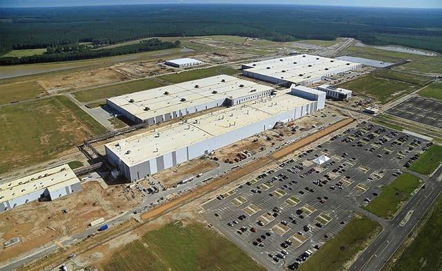 2020 Volvo XC90 plant in South Carolina