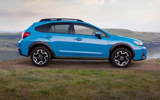 2019 Subaru Crosstrek side