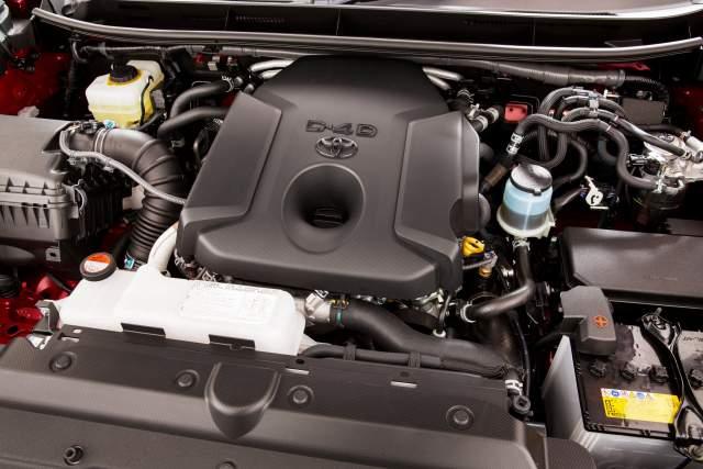 2019 Toyota Land Cruiser Prado engine