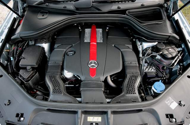 2020 Mercedes-Benz GLE Coupe engine