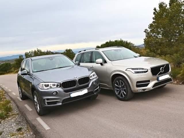 2019 BMW X5 2019 Volvo XC90