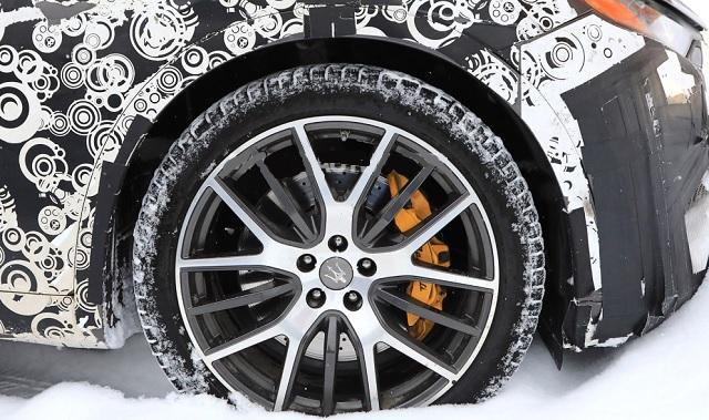 2019 Maserati Levante GTS wheels