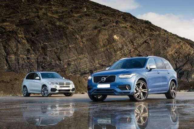2019 Volvo XC90 vs 2019 BMW X5