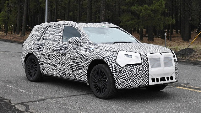 2020 Lincoln Corsair spied
