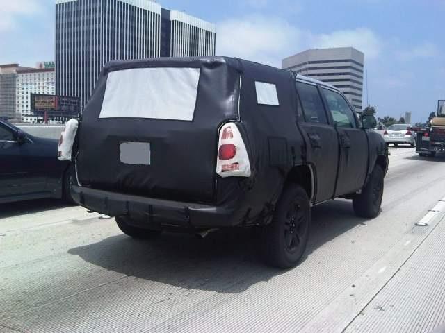 2020 Toyota 4Runner spied