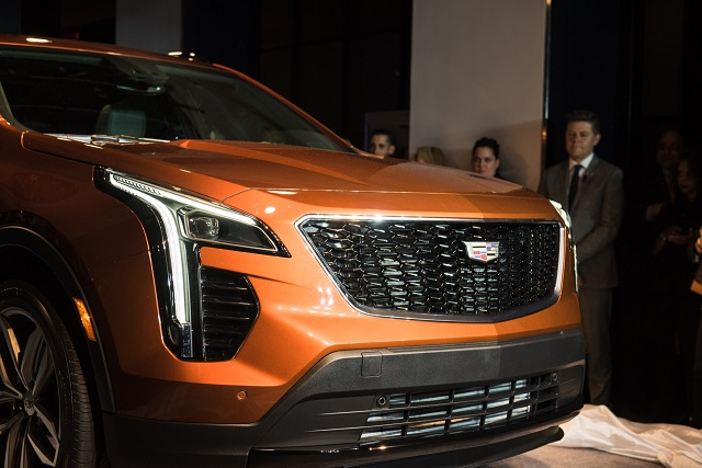 2020 Cadillac XT5 grille