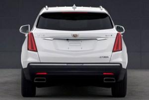 2020 Cadillac XT5 teaser photos