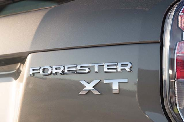 Subaru Forester XT return