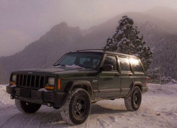 Jeep Cherokee XJ redesign