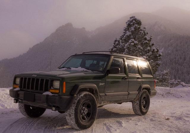 Jeep Cherokee XJ redesign