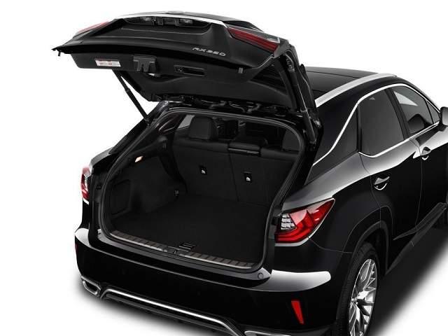 2020 Lexus RX 350 cargo space