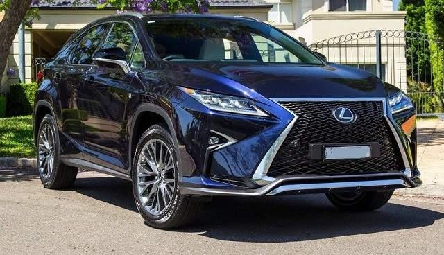 2020 Lexus RX 350 release date