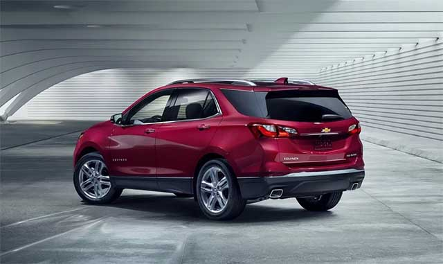 2020 Chevy Equinox changes