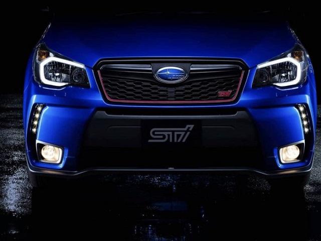 2020 Subaru Forester STI teaser