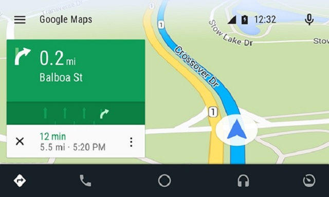 android auto toyota navigation