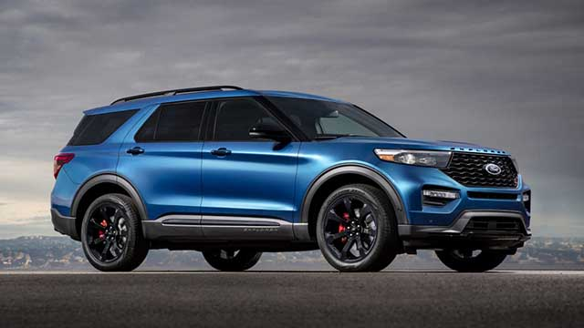 2020 Ford Explorer ST price