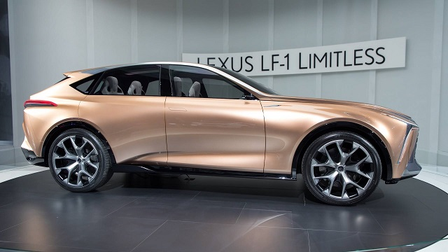 Lexus Performance SUV lf-1 limitless