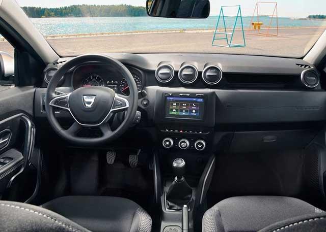 2020 Dacia Sandero interior