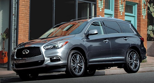 2020 Infiniti QX60 changes