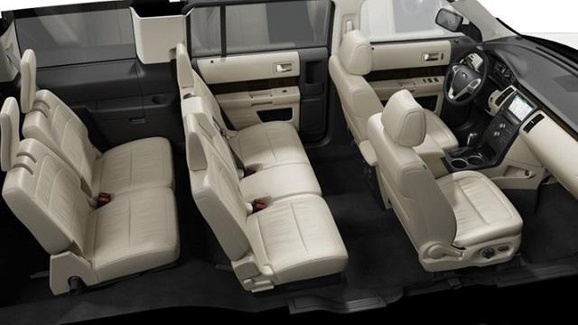 2020 ford flex three row interior