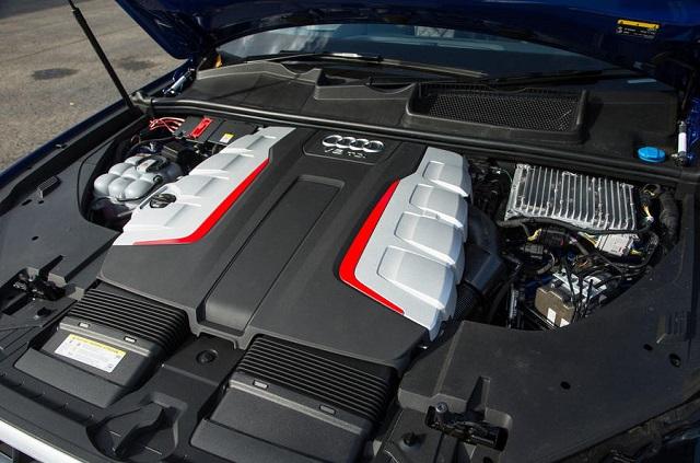 2021 Audi SQ7 diesel engine