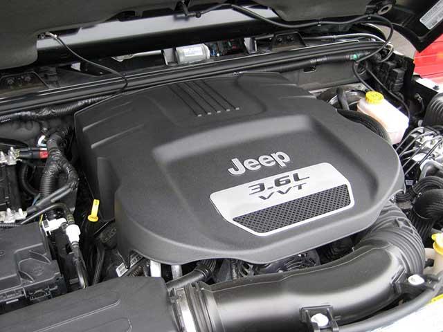 2021 Chrysler Aspen v6 engine
