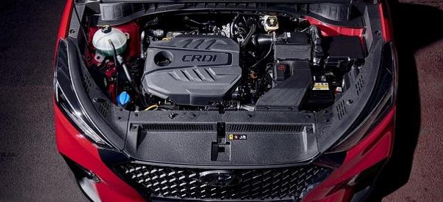 2021 Hyundai Tucson n line engine