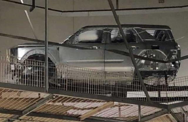 2020 Ford Baby Bronco new spy photos
