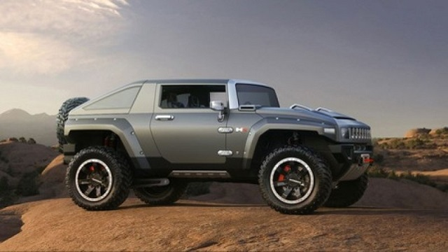 Hummer Electric SUV concept