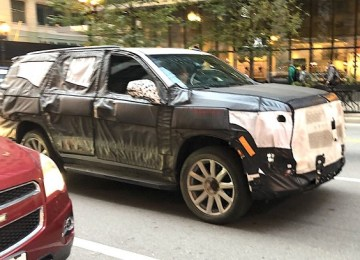 2021 Cadillac Escalade spy photos