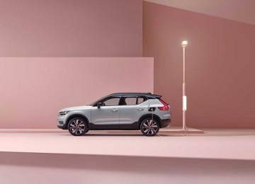 2021 Volvo XC40 EV recharge time